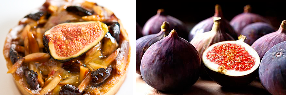 Camembert and Fig Tart