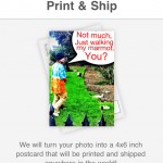 Sincerely Ship & Picsicle Postcards