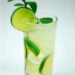 Cheers! -  Refreshing Mint and Lime Mojito